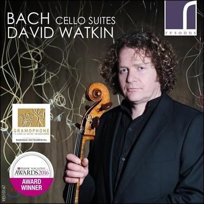 David Watkin 바흐: 무반주 첼로 모음곡 (J.S. Bach: Cello Suites BWV1007-1012)