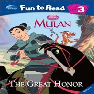 Disney Fun to Read 3-03 Great Honor