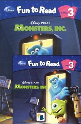 Disney Fun to Read Set 3-10 Monsters, Inc.