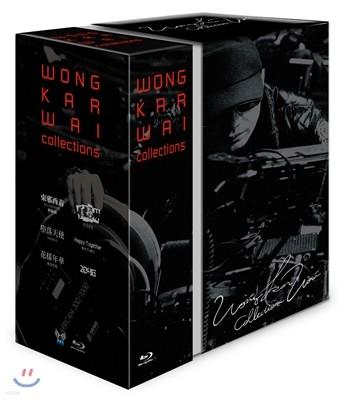 왕가위 감독 컬렉션 박스세트 (책자 포함 넘버링 한정판) : 블루레이