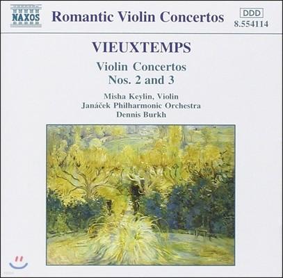 Misha Keylin 비외탕: 바이올린 협주곡 2번, 3번 (Vieuxtemps: Violin Concertos Op.19, Op.25)