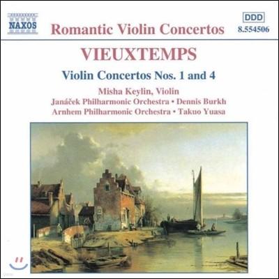 Misha Keylin 로맨틱 바이올린 협주곡 - 비외탕: 바이올린 협주곡 1번, 4번 (Vieuxtemps: Violin Concertos)