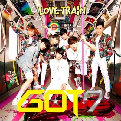 갓세븐 (GOT7) - Love Train (CD+DVD) (초회생산한정반 A)