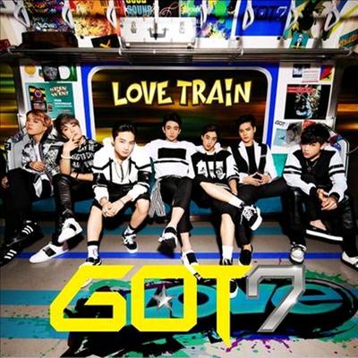갓세븐 (GOT7) - Love Train (CD+DVD) (초회생산한정반 B)