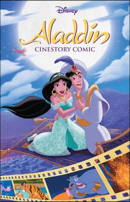 디즈니 시네스토리 만화 : 알라딘 Disney's Aladdin Cinestory Comic