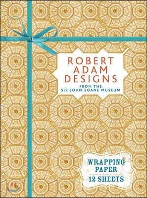 Robert Adam Designs from Sir John Soane's Museum: Wrapping Paper Book