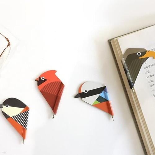 마그네틱 북마크 볼펜 SAVE OUR BIRDS
