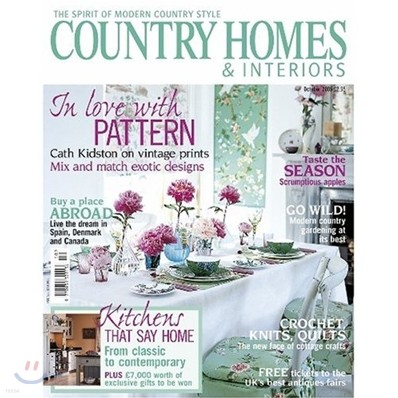 [정기구독] Country Homes & Interiors (월간)