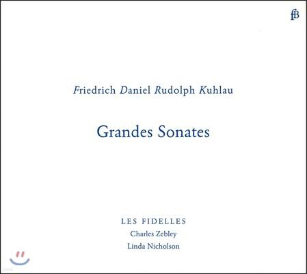Charles Zebley 쿨라우: 플루트와 피아노를 위한 그랜드 소나타 (Kuhlau: Grandes Sonates)