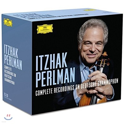 Itzhak Perlman DG 녹음 전집 (Complete Recordings On Deutsche Grammophon Limited Edition)