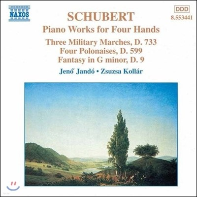 슈베르트: 네 손을 위한 피아노 작품 2집 (Schubert: Three Military Marches, Four Polonaises, Fantasy D.9)