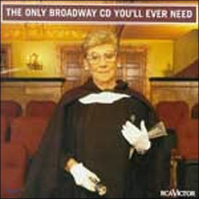 [중고] O.S.T. / Only Broadway CD You'll Ever Need