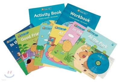 Potato Pals 1 Set : Student Book + Activity Book + Work Book + CD