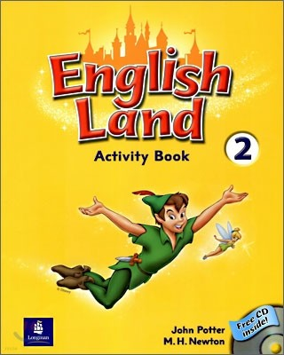 English Land 2 : Activity Book with Audio CD