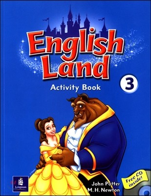 English Land 3 : Activity Book with Audio CD