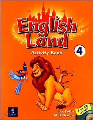 English Land 4 : Activity Book with Audio CD