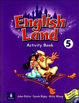 English Land 5 : Activity Book with Audio CD