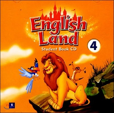 English Land 4 : Audio CD