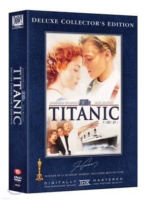 타이타닉 디럭스 콜렉터스 에디션 수입한정판 (3disc)