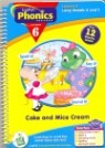 [LeapPad Book] Phonics 6 : Cake and Mice Cream
