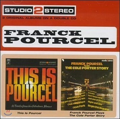 Franck Pourcel / This Is Pourcel, Plays the Cole Porter Story (수입/미개봉/2CD)
