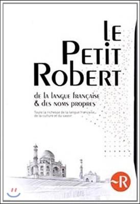 Le Petit Robert Dictionnaire et Noms Propres 2015