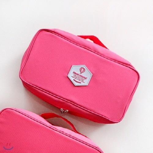 신지가토 트레블 속옷 파우치 Pink