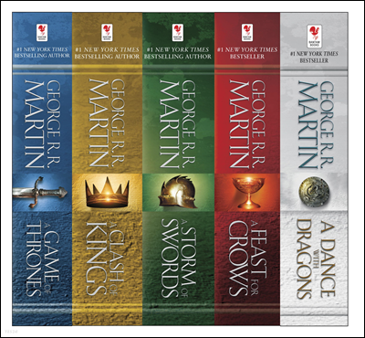 George R. R. Martin`s A Game of Thrones 5-Book Boxed Set (Song of Ice and Fire Series)