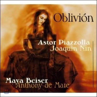 Maya Beiser, Anthony DeMare, Piazzolla, Nin / Oblivion (수입/미개봉/374422h1)