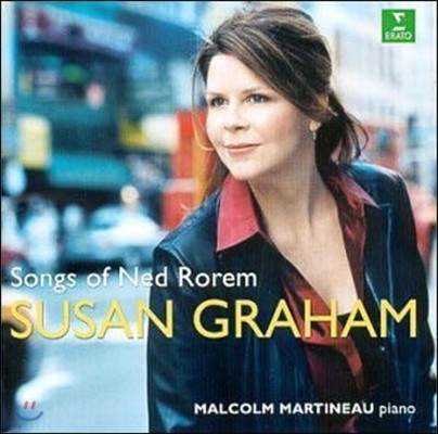 Susan Graham, Malcolm Martineau / The Songs of Ned Rorem (수입/미개봉/8573802222)
