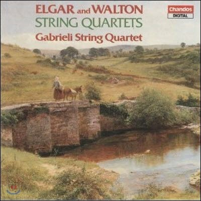 Gabrieli String Quartet / Gabrieli String Quartet : Elgar & Walton String Quartets (수입/미개봉/chan8474)
