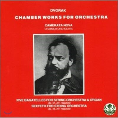 Camerata Nova / Dvorak : Chamber Works For Orchestra (수입/미개봉/rrcd1302)