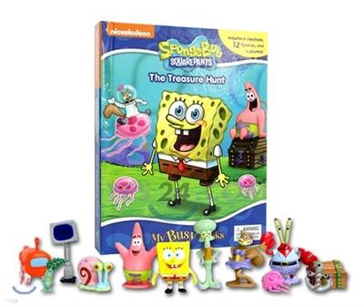 Spongebob My Busy Book 스펀지밥 비지북 피규어책