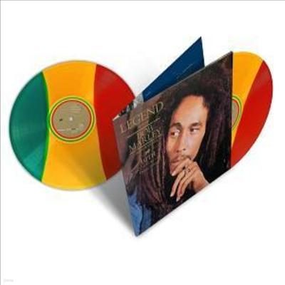 Bob Marley - Legend (Ltd. Ed)(Gatefold Cover)(30th Anniversary)(Tri-Color Vinyl)(180G)(2LP)