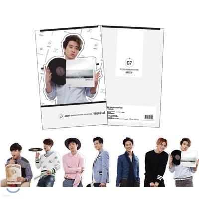 갓세븐 (GOT7) - GOT7 SUMMER OFFICIAL GOODS 컷아웃 카드 (CUT OUT CARD) - YOUNGJAE