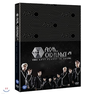 엑소 (EXO) 프롬. 엑소플래닛 #1 : 더 로스트 플래닛 인 서울 DVD
