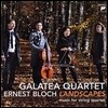Galatea Quartet / Bloch : Landscapes (수입/미개봉88697950242)