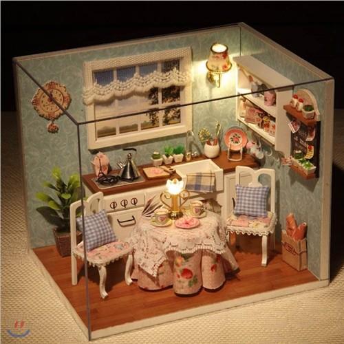 [adico] DIY미니어처 하우스 - 카멜라의 주방