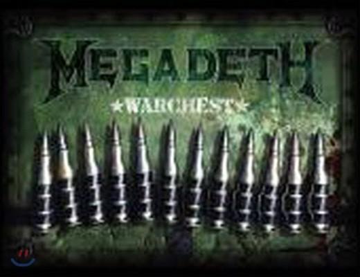 [중고] Megadeth / Warchest (4CD+1DVD Limited Edition) (Box Set/수입)