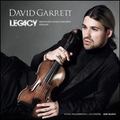 베토벤: 바이올린 협주곡, 크라이슬러: 소품집 (Legacy: Beethoven & Kreisler)(CD) - David Garrett