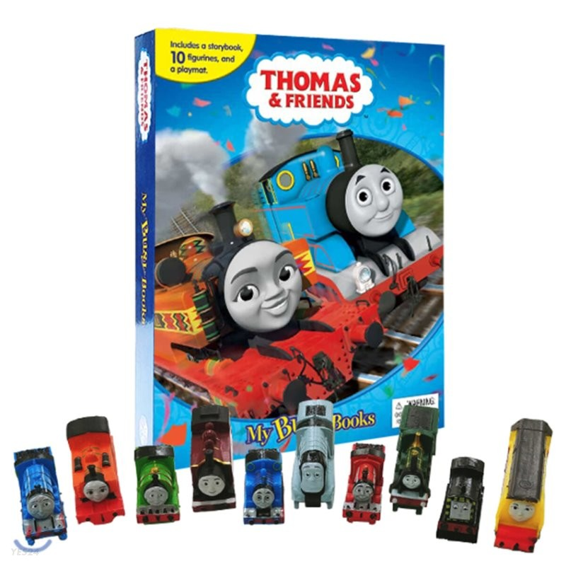 Thomas & Friends #2 My Busy Book 비지북 토마스와 친구들 2 피규어 책