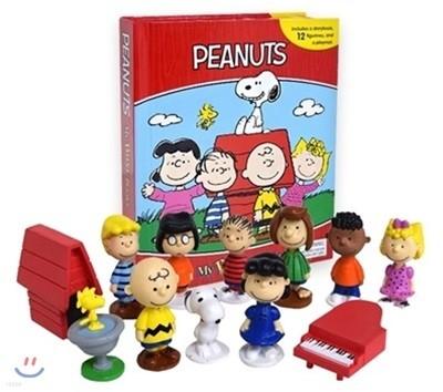 Peanuts Busy Book 피넛츠 비지북 피규어 책