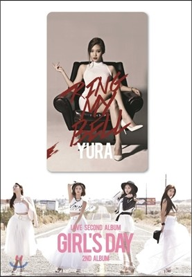 걸스데이 (Girl's Day) 2집 - Love [스마트 뮤직 카드 / 유라 ver.]