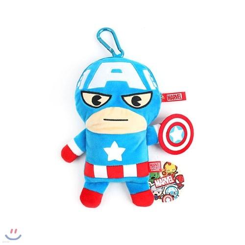 마블 캡틴아메리카 카드&핸드폰파우치