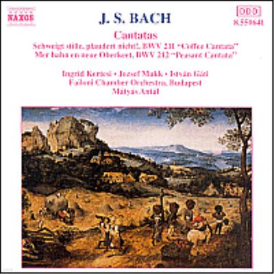 바흐 : 커피 칸타타, 농민 칸타타 (Bach : Coffee Cantata BWV211, Peasant Cantata BWV212) - Matyas Antal