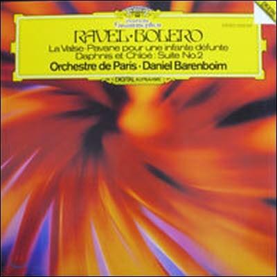 [중고] [LP] Daniel Barenboim / Ravel : Bolero, La Valse (수입/2532041) - sr3