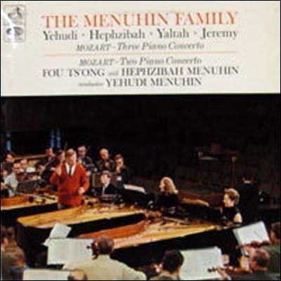 [중고] [LP] Menuhin Family / Mozart : Three & Two Piano Concertos (수입/ASD 2280)