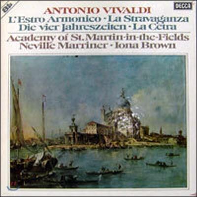 [중고] [LP] Neville Marriner, Iona Brown / Vivaldi : L'estro Armonico (8LP Box/수입/6.35448)