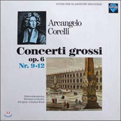 [중고] [LP] Gunther Wich / Corelli : Concerti Grossi op.6 Nr. 9-12 (수입/int120897)