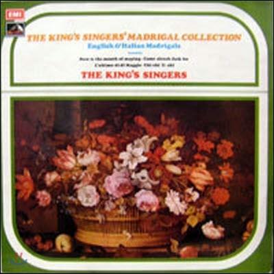 [중고] [LP] The King's Singers / English & Italian Madrigals (수입,CSD3756) -SW76